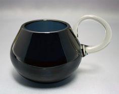 Sour milk mug Still, Nanny Riihimäen Lasi Designed in 1959 Finland Glass Design, Design Art, Cheese Dome, Lassi, Be Still, Finland, Glass Art, Milk, Jar