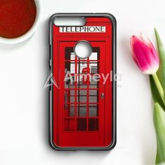 London Telephone Booth Google Pixel XL Case | armeyla.com