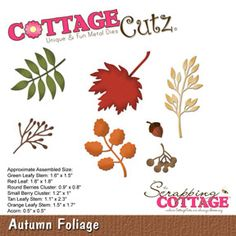 ****  Cottage Cutz Autumn Foliage