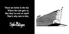 My favourite Spike Milligan poem.