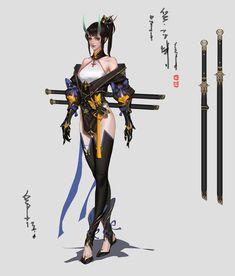 fantasy Art Now Fantasy Character Design, Character Design Inspiration, Character Concept, Character Art, Concept Art, Fantasy Characters, Female Characters, Anime Characters, Fantasy Warrior