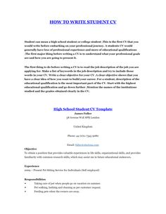 Resume Template For College Students   Http://www.resumecareer.info/resume Template For College Students 8/  | Resume Career Termplate Free | Pinterest ...  High School Resume No Work Experience