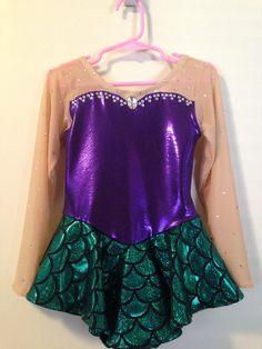 Little Mermaid Skating dress