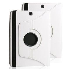 Galaxy Tab S2 9.7 Cover Case,elecfan 360 Degrees Rotating Magnetic PU Leather Smart Case Cover for Samsung Tab S2 9.7 inch Tablet SM-T810,SM-T815 (Tab S2 9.7, White) -- Continue to the product at the image link.
