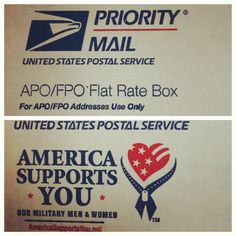 Getting a fair deal on sending care packages during deployment to APO/FPO address. Cost tips from The Young Retiree