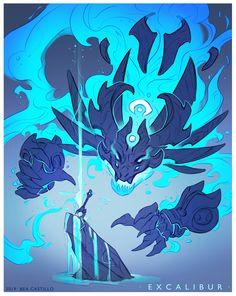 Bea Castillo's submission on The Legend of King Arthur - Character Design ArtStation - Bea Castillo's submission on The Legend of King Arthur - Character Design Monster Art, Monster Concept Art, Fantasy Monster, Monster Design, Fantasy Character Design, Character Design Inspiration, Character Art, Creature Concept Art, Creature Design