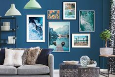 Framed Curated Art Prints