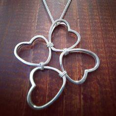 Silver pendant ハートの繋がり (Harto no Tsunagari) material:AG925