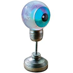 The Evil Eye Illuminated Sculpture - Eyeball Lamp - Halloween Prop * More info could be found at the image url. (This is an affiliate link) #HomeDcor