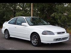 1998 Honda Civic 2 Door Coupe White Slideshow Honda Civic 1998, Benz C, Cool Cars, Mercedes Benz, Jeep, Cutaway, Jeeps