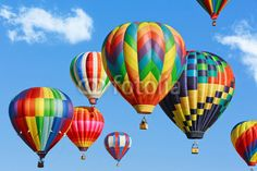 Colorful hot air balloons© Mariusz Blach