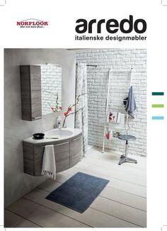 ARREDO ...ny spennende Baderomsmøbel katalog fra Norfloor!!