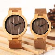 Cheap Price Top Brand Wooden Bamboo Couple Watch Analog Quartz Women Men Creative Watches for Lovers Nature Bamboo Case Clock Best Gift Couple Watch, Wooden Clock, Wooden Watch, Vintage Coffee, Watch Brands, Watches For Men, Men's Watches, Best Gifts, Bamboo