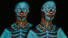 Blue Demon Speed Body Paint