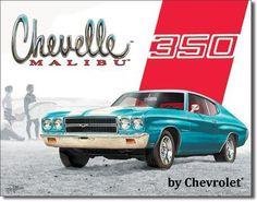 Chevy Chevelle Malibu 350 Sign