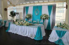 Свадебное оформление зала в Сочи