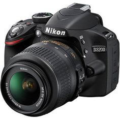 Nikon D3200 Digital SLR Camera - Black w/AF-S DX 18-55mm 1:3.5-5.6G VR Lens - EXCLUSIVE DEAL! BUY NOW ONLY $338.81