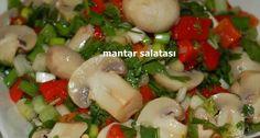 Mantar salatası, şık sofralar için uygun bir salata türü olarak tercih edilebilir bir lezzettir.