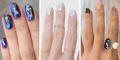 Korean Glass Nails Trend - 3D Nail Art Trend