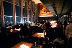 New York Grill (Shinjuku) – 40 floors above Tokyo inside the Park Hyatt.