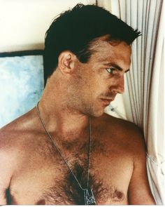 Kevin Costner Shirtless Hairy 8x10 photo S3942 • £8.02 - PicClick UK