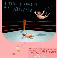 I wish I could be a wrestler: Oliver Jeffers