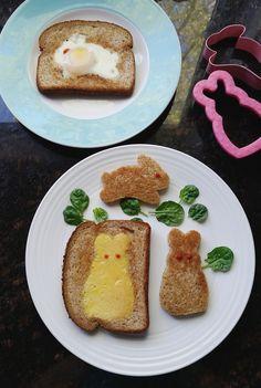 Easter Breakfast Eggs #easter #breakfast #kids #diy
