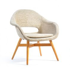 Located using retrostart.com > Lounge Chair by František Jirák for Unknown Manufacturer