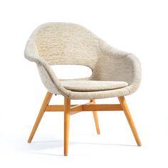 Located using retrostart.com > Lounge Chair by František Jirák for Unknown Manufacturer