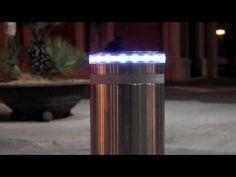 Pilon telescopic cu telecomanda si banda LED - Stalpi blocare restrictio...