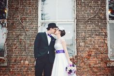 Weddbook is a content discovery engine mostly specialized on wedding concept. You can collect images, videos or articles you discovered  organize them, add your own ideas to your collections and share with other people | Retro Fit Literary Offbeat Wedding Illinois Starline Factory