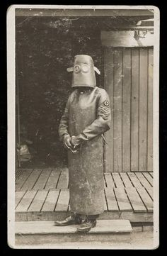 Radiology Nurse Technician during WWI. Taken in France in 1918 by HJ Hickman