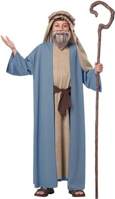 Nativity pageant kids Shepherd Costume