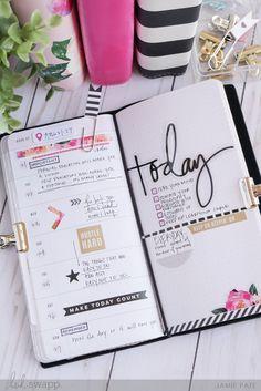 Take a Look At the Heidi Swapp Memory Planner Traveler's Notebook by Jamie Pate | @jamiepate for @heidiswapp
