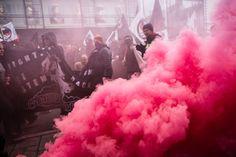 Antifascist Demonstration Malmö. 2014-03-16.Kämpa Malmö! #antifa #colors…