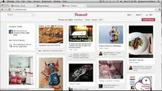 how to use pinterest - YouTube