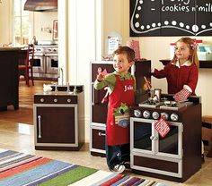 If I win the lottery, I'm buying this for the baby!  Gourmet Kitchen Collection #PotteryBarnKids