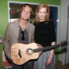 Nicole Kidman and Keith Urban Sing a Sweet Duet to Sick Children
