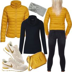 Only Steppjacke Damen Gelb für Damen zum Nachshoppen auf Stylaholic #outfits #styleinspiration #outfitideas #look #lookoftheday #fashion #trending #style #clothing #mode #damenmode #bekleidung #stylaholic #outfit #sexy #elegant #casual #fashion Sporty Outfits, Winter Outfits, Fashion Outfits, Womens Fashion, Canadian Clothing, Mustard Yellow Top, Différents Styles, Yellow Fashion, Winter Wardrobe