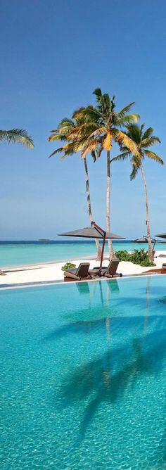 Bask in the sun Maldives ... be sure to visit our favorite spot Kurumba.  They sell UjENA Swimwear too ♥