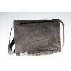 messenger bag made from army sack