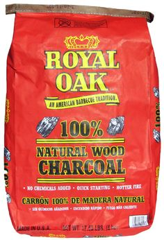 Royal Oak Lump Charcoal - Made In The USA!