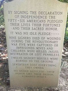 These were men of Honor. Not the spineless politically correct leeches of today. Oh to have had the chance to walk with the founders of our great country.