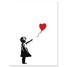 Banksy Posters, Banksy Graffiti, Graffiti Painting, Mural Painting, Art Paintings, Painting Abstract, Canvas Art Prints, Canvas Wall Art, Images Murales
