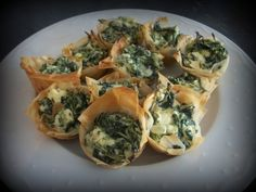 Wild Green Phyllo Cups