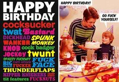 34 Needlessly Offensive Birthday Cards Pinterest Offensive