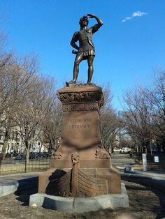 Leif Erikson Statue Boston