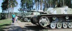 The tank museum, Parola, Hattula, Finland