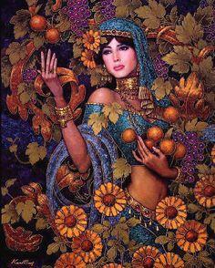 Autumn mistress. Karl Bang