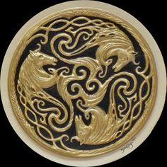 Celtic Triskele for Epona, the Celtic goddess of horses
